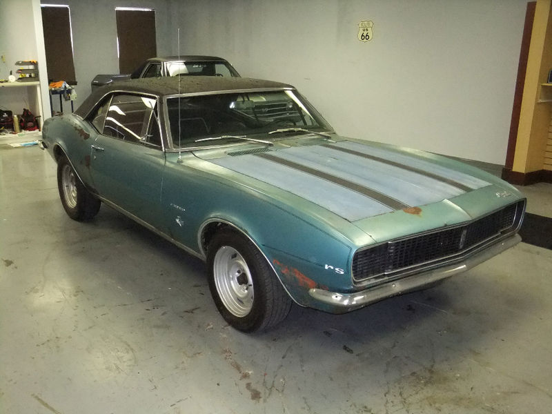 1967 Rs Camaro Barn Find