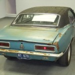 67 camaro RS barn find for sale 03