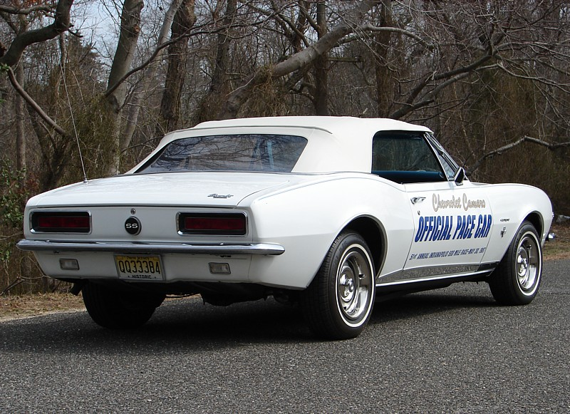Camaro Ss Pace Car For Sale