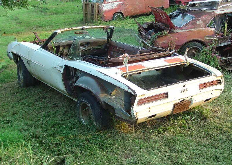 Needs Work 1969 Camaro Pace Car Used Camaros For Sale